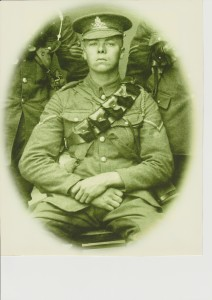WWI photo of Arthur Kempster